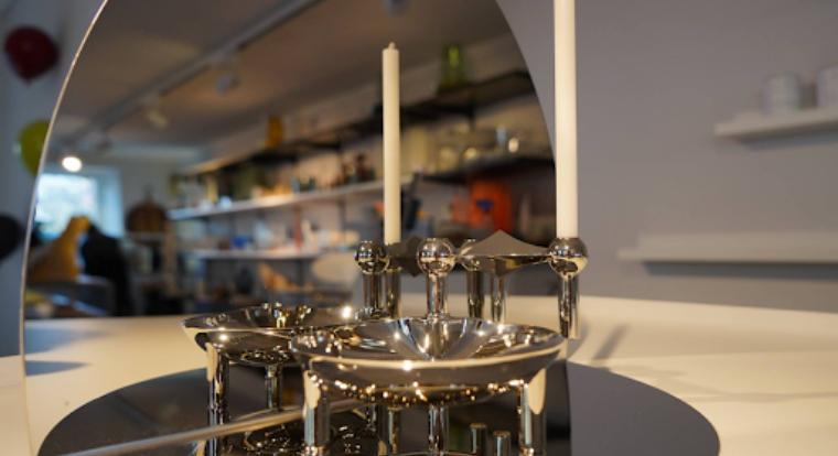 Ein aussergewöhnliches Produkt mit aussergewöhnlicher Geschichte: Der geometrische Kerzenhalter